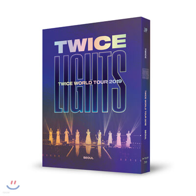 트와이스 (TWICE) - TWICE WORLD TOUR 2019 'TWICELIGHTS' IN SEOUL BLU-RAY