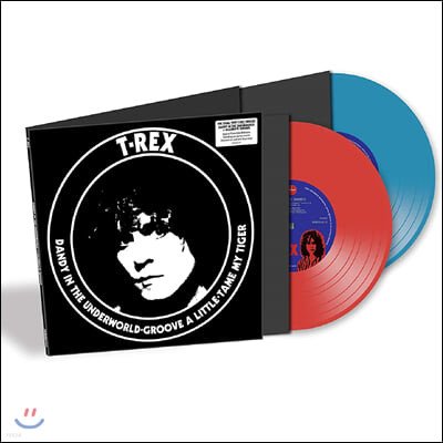 T. Rex (티렉스) - Dandy In The Underworld & Groove A Little [10인치 레드 & 블루 컬러 2Vinyl]