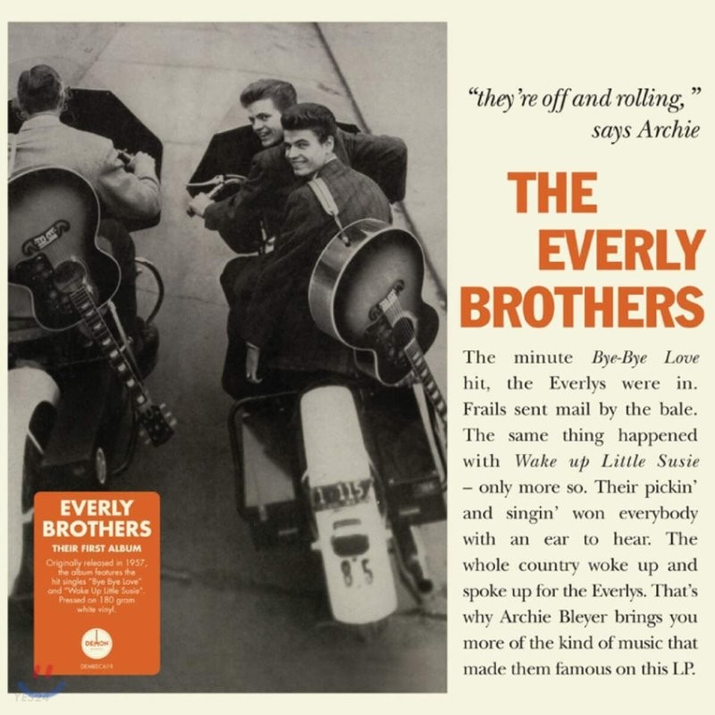 The Everly Brothers (에벌리 브라더스) - Songs Our Daddy Taught Us [LP]