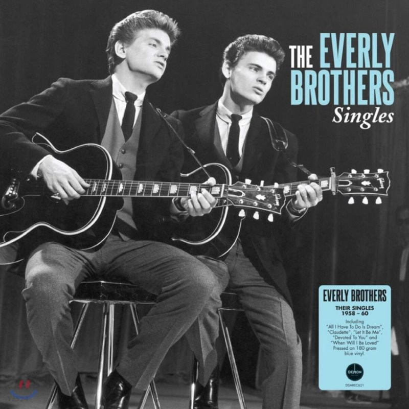 The Everly Brothers (에벌리 브라더스) - Singles [LP]
