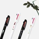 세계문학 3색 형광 볼펜