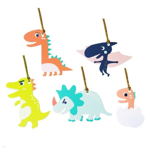 가자! 공룡왕국 텍 10개 (2set)