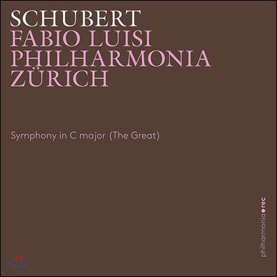 Fabio Luisi 슈베르트: 교향곡 9번 `그레이트` (Schubert: Symphony No.9 'Great')