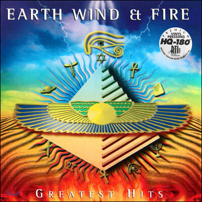 Earth, Wind & Fire (어스 윈드 앤 파이어) - The Greatest Hits [골드 컬러 2LP]