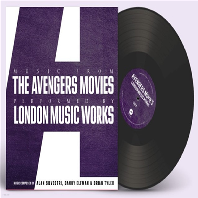 London Music Works - Music From The Avengers Movies (어벤져스) (Ltd)(Soundtrack)(140g LP)