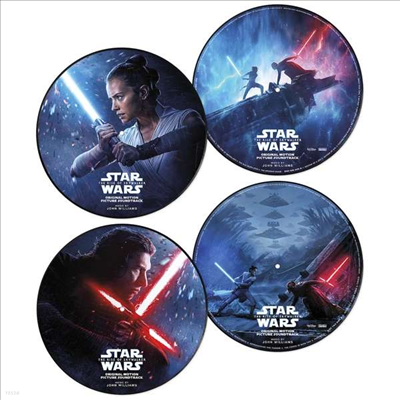 John Williams - Star Wars: The Rise Of Skywalker (스타워즈: 라이즈 오브 스카이워커) (Picture Disc 2LP)(Soundtrack)