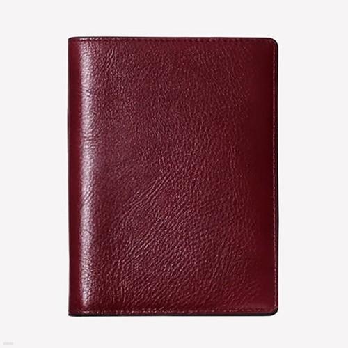 마뜨 이태리 베지터블 지폐형 여권지갑,여권케이스(버건디)w31312
