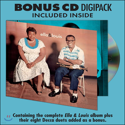 Ella Fitzgerald & Louis Armstrong (엘라 피츠제럴드 & 루이 암스트롱) - Ella & Louis [LP+CD]