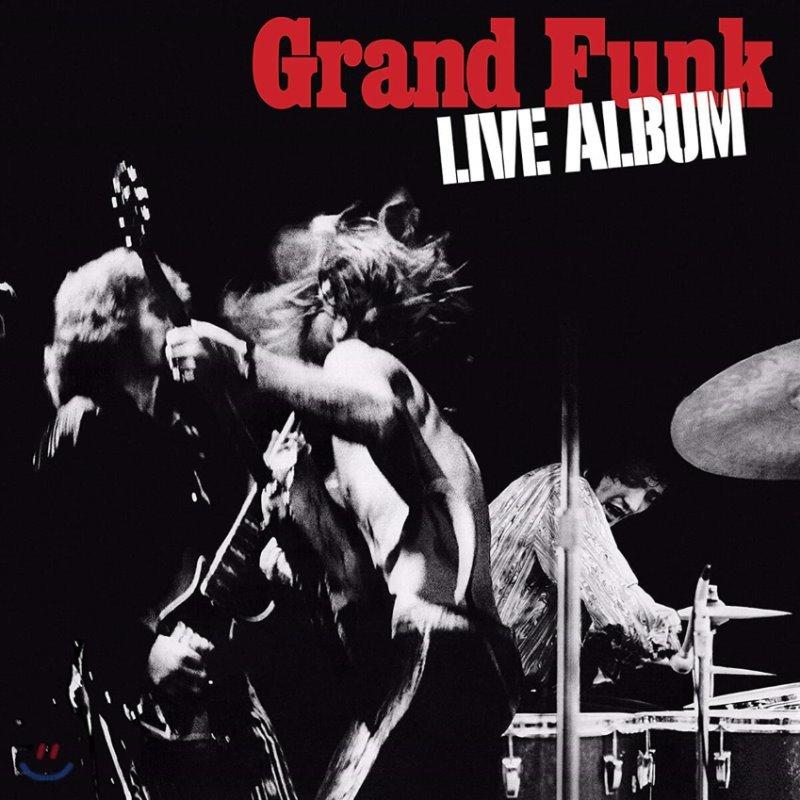 Grand Funk Railroad (그랜드 펑크 레일로드) - Live Album [2LP]