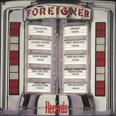 Foreigner (포리너) - Records [LP]