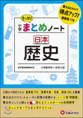 小學まとめノ-ト 日本歷史