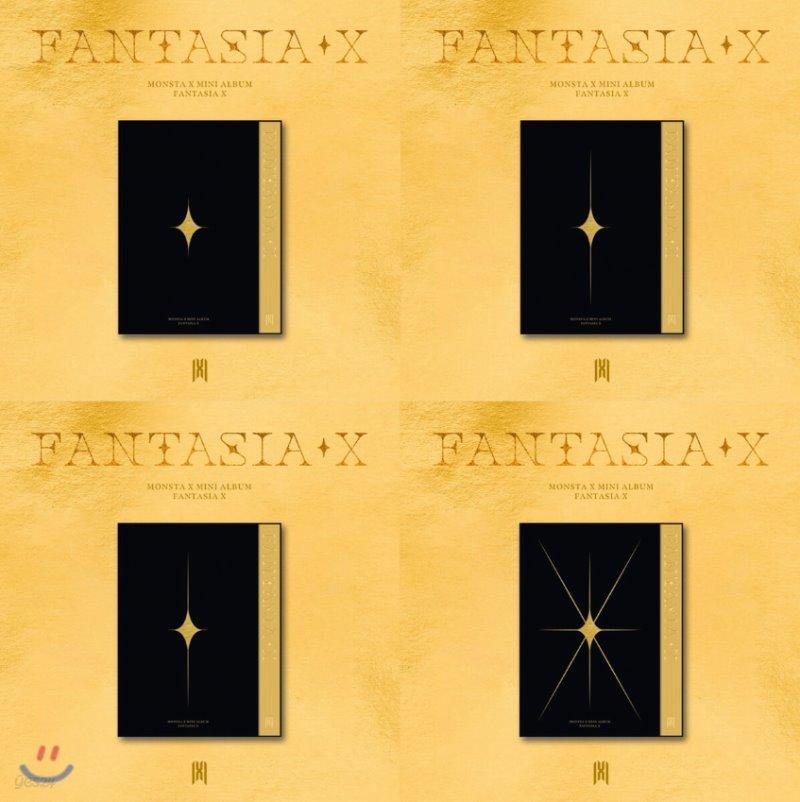 몬스타엑스 (MONSTA X) - 미니앨범 : FANTASIA X [4종 중 랜덤 1종 발송]