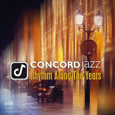 Various Artists - Concord Jazz-Rhythm Along The Years (Ltd. Ed)(Gatefold)(45RPM)(180G)(2LP)