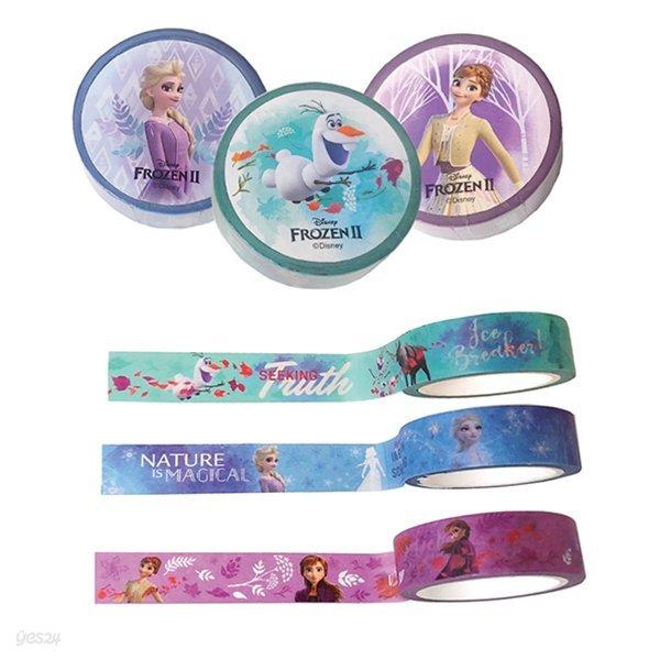 디즈니 겨울왕국2 마스킹테이프 (3 option)