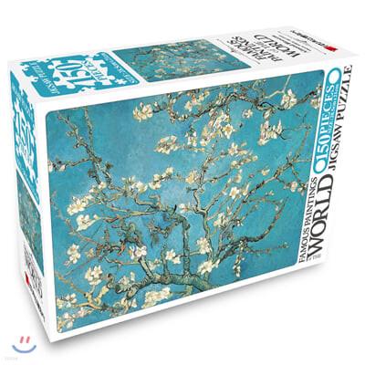 명화 직소퍼즐 150pcs 꽃피는 아몬드나무