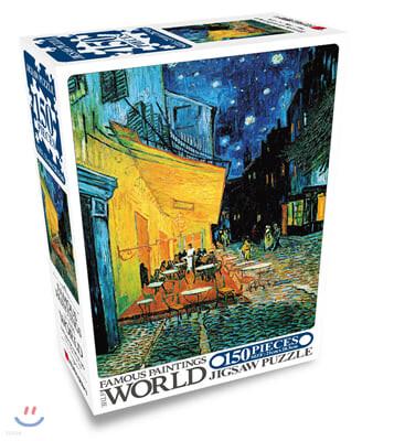 명화 직소퍼즐 150pcs 밤의 카페테라스