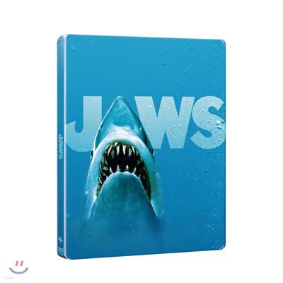 죠스 45주년 기념 (2Disc 4K UHD + 2D 스틸북 한정수량) : 블루레이