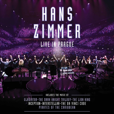 Hans Zimmer - Live In Prague (180g Colored 4LP)