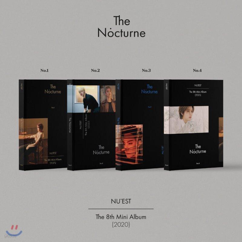 뉴이스트 (NU'EST) - 미니앨범 8집 : The Nocturne [SET]