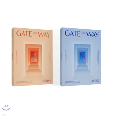 아스트로 (ASTRO) - 미니앨범 7집 : GATEWAY [TIME TRAVELER Ver.]