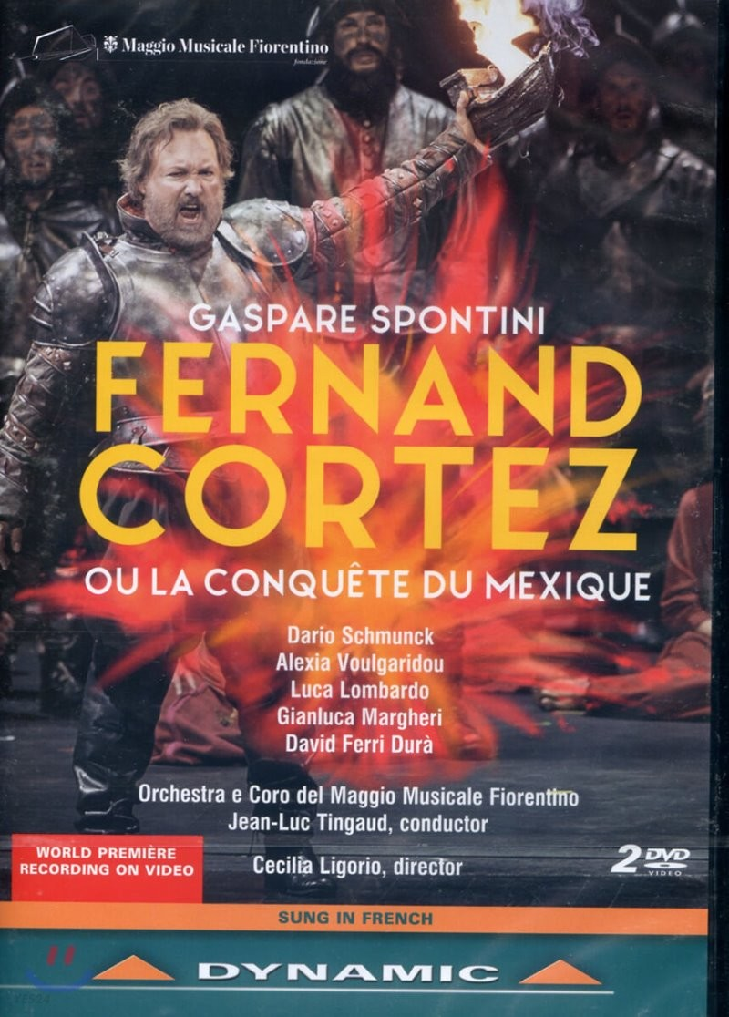 Dario Schmunck 가스파레 스폰티니: 오페라 '페르난드 코르테즈' (Gaspare Spontini: Fernando Cortez)