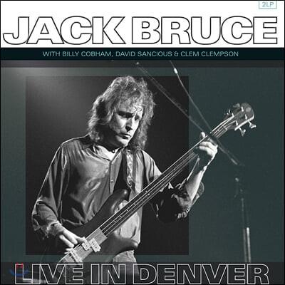 Jack Bruce (잭 브루스) - Live in Denver [LP]