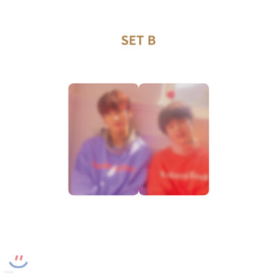 H&D (한결,도현) SOULMATE 2PIECE 포토카드 세트 [B]