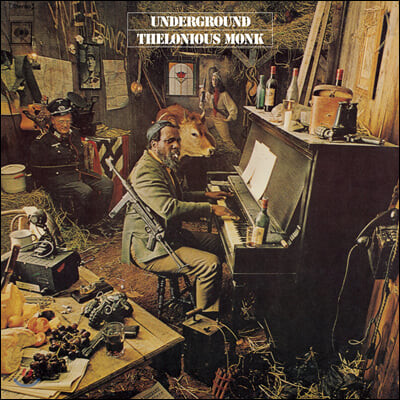 Thelonious Monk (텔로니어스 몽크) - Underground [LP]