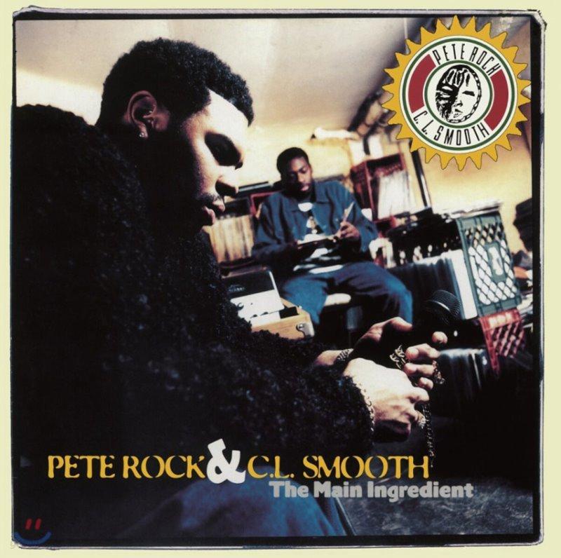 Pete Rock & C.L. Smooth (피트 록 & 씨엘 스무스) - Main Ingredient [2LP]