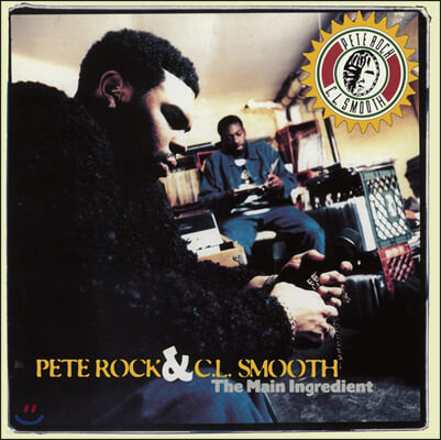Pete Rock & C.L. Smooth (피트 록 & 씨엘 스무스) - Main Ingredient [2LP]