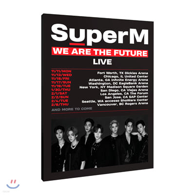 SuperM WORLD TOUR -WE ARE THE FUTURE LIVE- 브로슈어