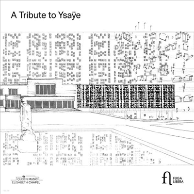 이자이 헌정 음반 박스 세트 (A Tribute to Ysaye) (5CD Boxset) - 여러 아티스트
