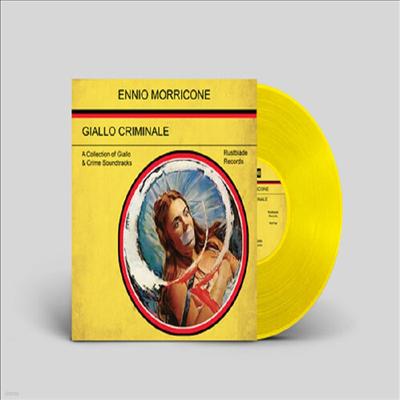 Ennio Morricone - Giallo Criminale (Soundtrack)(Ltd)(Colored LP)