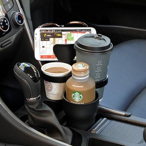 차량용 수납 컵홀더 차아네 5단 멀티 와이드 컵...