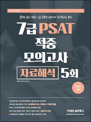 2021 7급 PSAT 적중 모의고사 자료해석