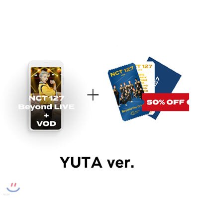 [YUTA] NCT 127 Beyond LIVE +VOD관람권 + SPECIAL AR TICKET SET