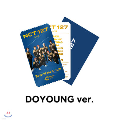 [DOYOUNG] NCT 127 Beyond LIVE Beyond the Origin SPECIAL AR TICKET SET
