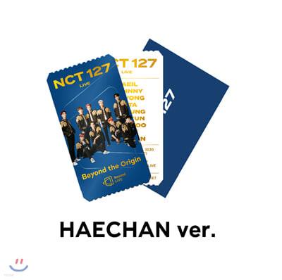 [HAECHAN] NCT 127 Beyond LIVE Beyond the Origin SPECIAL AR TICKET SET