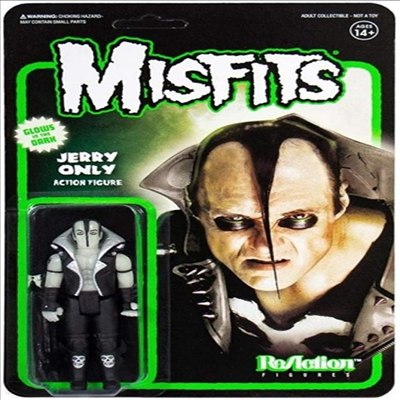 Super7 - (슈퍼7)Misfits Reaction Figures - Jerry Only (Glow In The Dark) (미스피츠 - 제리 온리)
