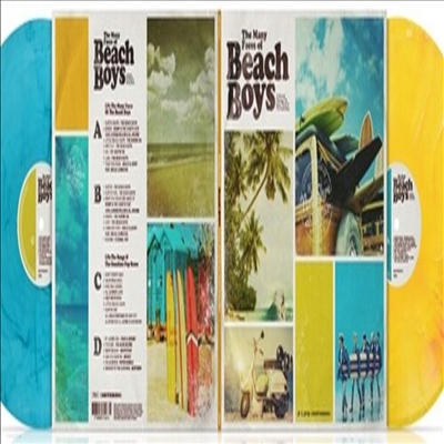 Various Artists - Many Faces Of The Beach Boys (180g Gatefold Colored 2LP)