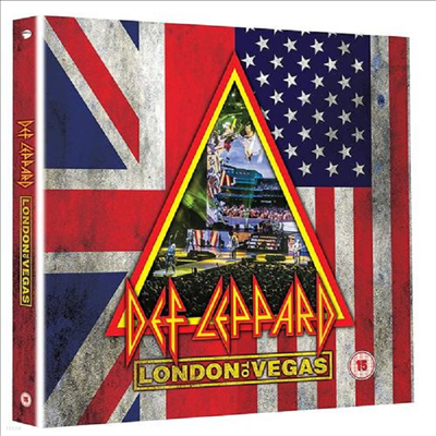 Def Leppard - London To Vegas (Ltd. Deluxe Edit)(2DVD+4CD Boxset)(DVD)