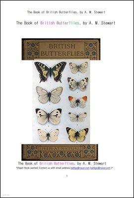 영국과 영연방국가의 나비들.The Book of British Butterflies, by A. M. Stewart
