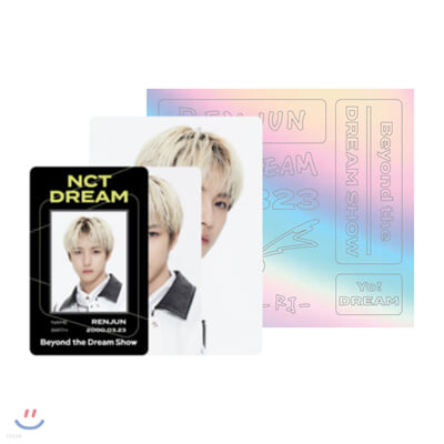 [RENJUN] NCT DREAM Beyond LIVE Beyond the Dream Show ID카드+응원봉데코스티커SET