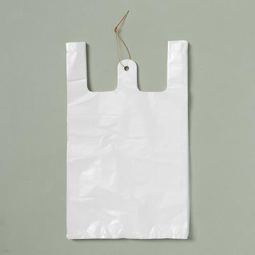 200p 비닐봉투(흰색-2호)/위생봉투 마트봉지 비...