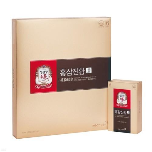 ★쇼핑백증정★[정관장] 홍삼진황 50mlx30포 / 4+1