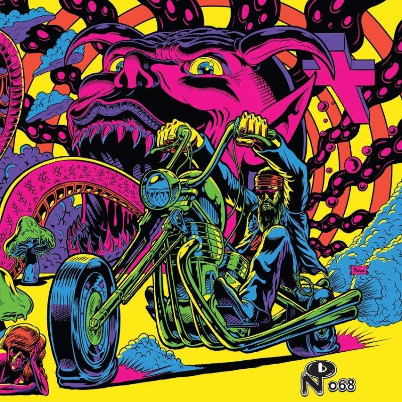 1970년대 포스트 히피 컴필레이션 앨범 (Warfaring Strangers: Acid Nightmares) [네온 퍼플 컬러 2LP]