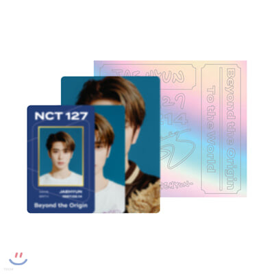 [JAEHYUN] NCT 127 Beyond LIVE Beyond the Origin ID카드+응원봉데코스티커SET