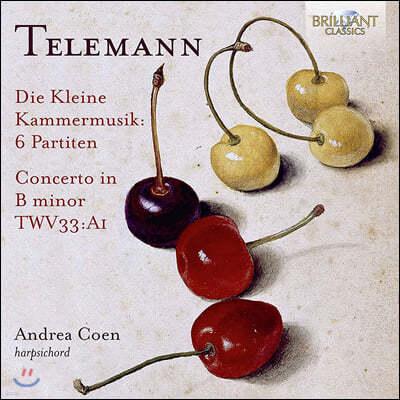 Andrea Coen 텔레만: 디 클라이네 캄머무지크 (Telemann: Die Kleine KammerMusik)