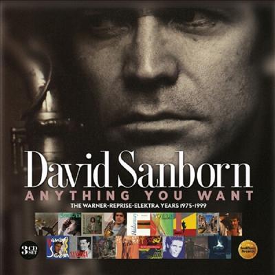 David Sanborn - Anything You Want: Warner / Reprise / Elektra Years (1975-1999) (3CD)