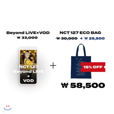 NCT 127 Beyond LIVE +VOD관람권 + Beyond the Origin 에코백
